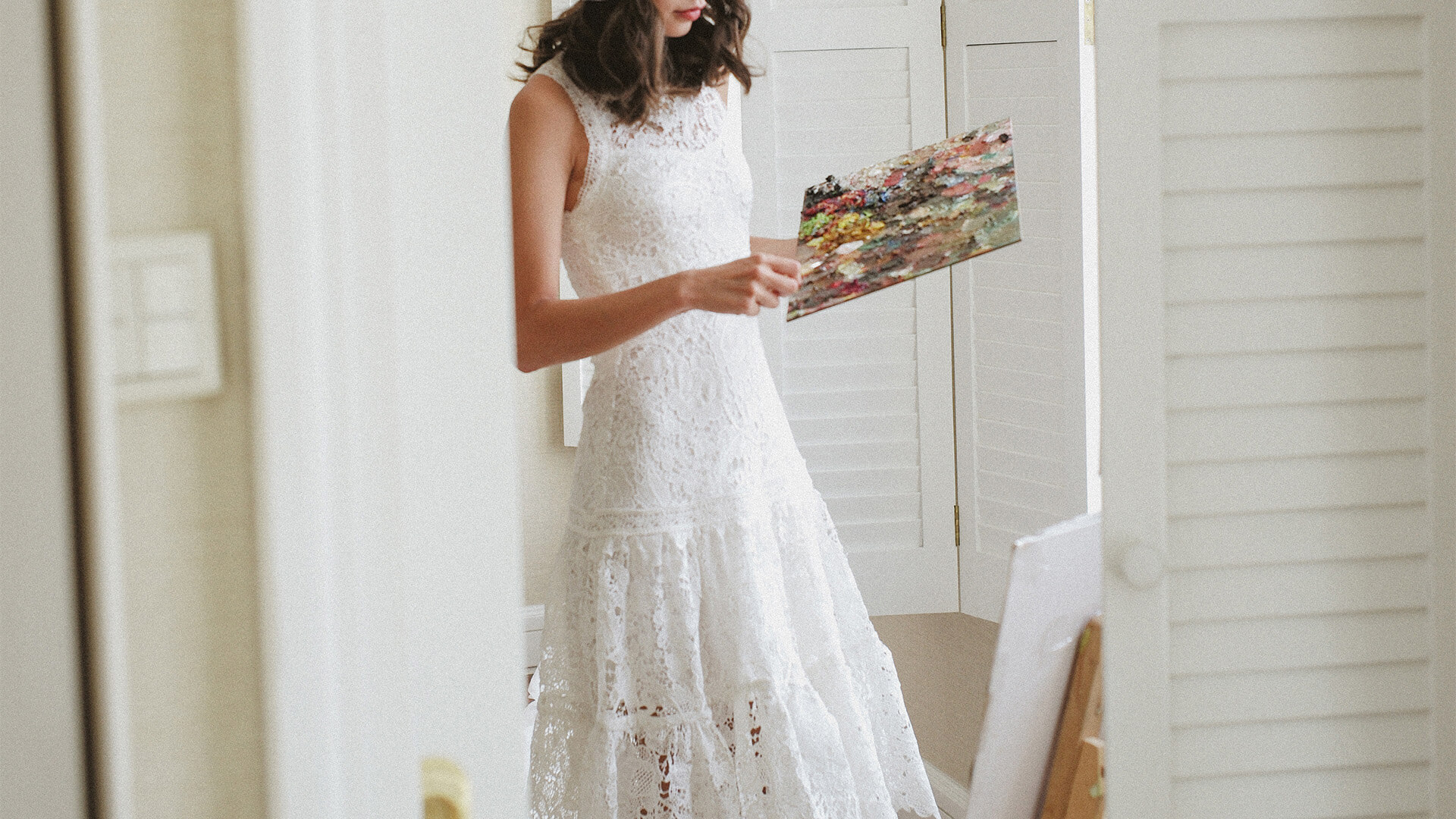 Elegant White Dresses No.4