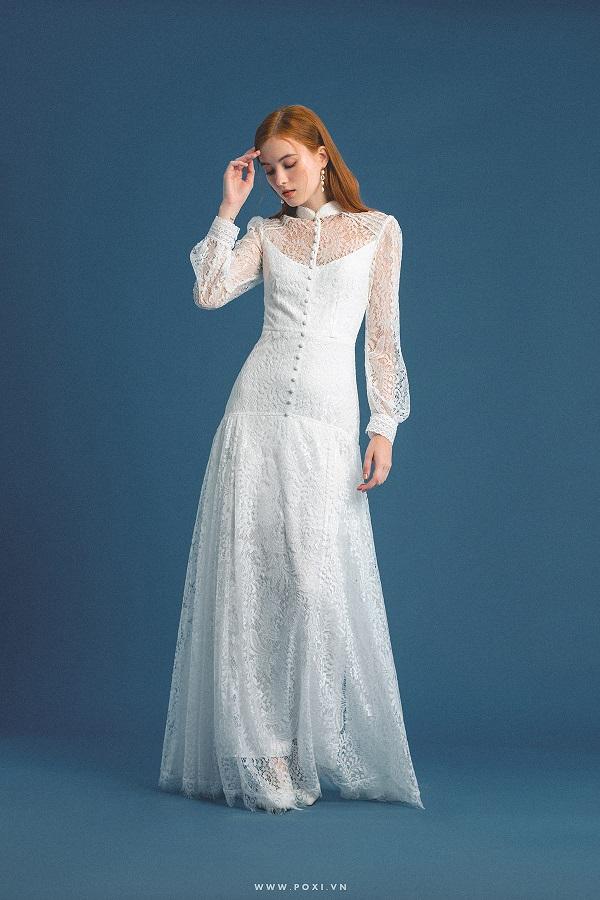 Tham khảo váy cưới đẹp tại TPHCM trực tiếp ở cửa hàng